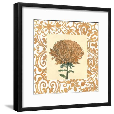 Non-embellished Chrysanthemum III-Megan Meagher-Framed Art Print