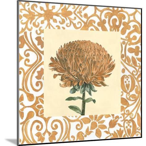 Non-embellished Chrysanthemum III-Megan Meagher-Mounted Art Print