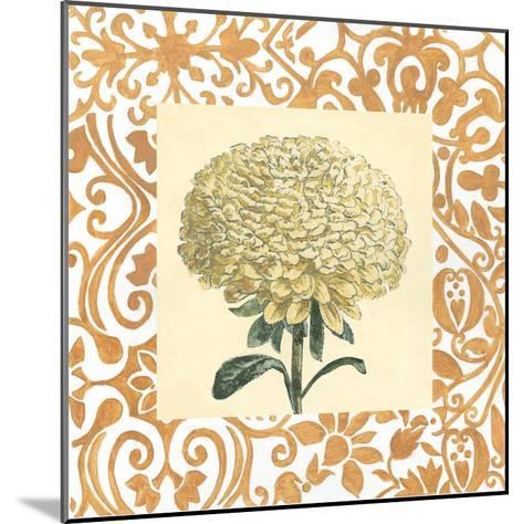 Non-embellished Chrysanthemum I-Megan Meagher-Mounted Art Print