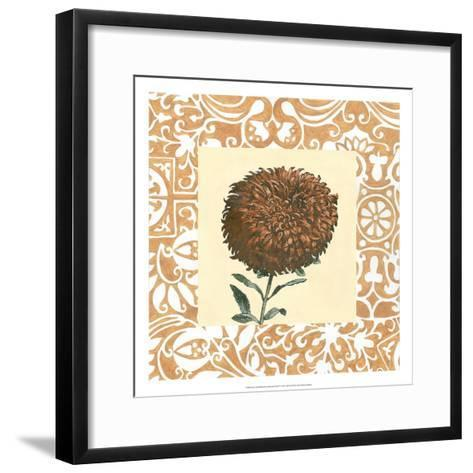 Non-embellished Chrysanthemum IV-Megan Meagher-Framed Art Print