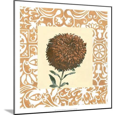 Non-embellished Chrysanthemum IV-Megan Meagher-Mounted Art Print