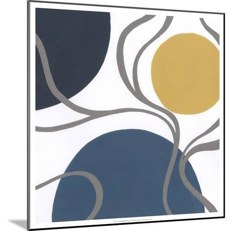 Non-Embellished Orbital I-Erica J^ Vess-Mounted Art Print