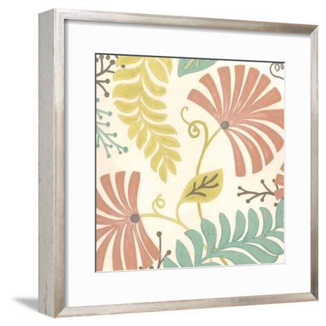 Veranda Floral III-Erica J^ Vess-Framed Art Print