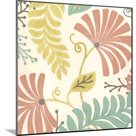 Veranda Floral III-Erica J^ Vess-Mounted Art Print