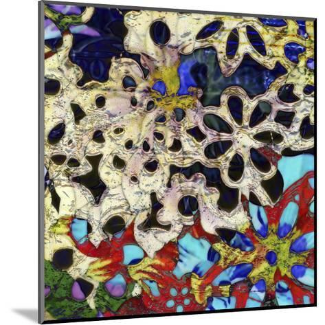Bejeweled Woodblock I-Ricki Mountain-Mounted Art Print
