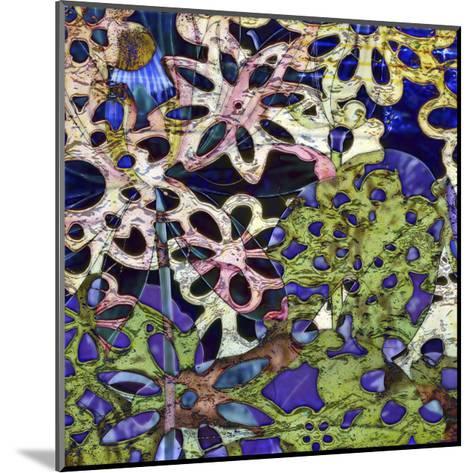 Bejeweled Woodblock III-Ricki Mountain-Mounted Art Print