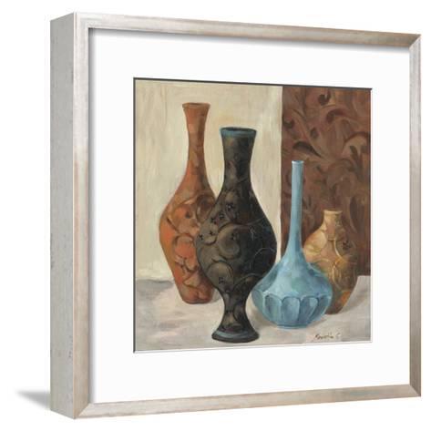 Spa Vases II-Marietta Cohen-Framed Art Print