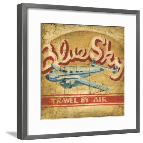 Blue Sky Travel-Ethan Harper-Framed Art Print