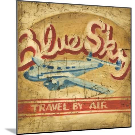 Blue Sky Travel-Ethan Harper-Mounted Art Print