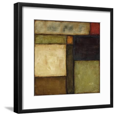 Small Autumnal Impressions VI-Jennifer Goldberger-Framed Art Print