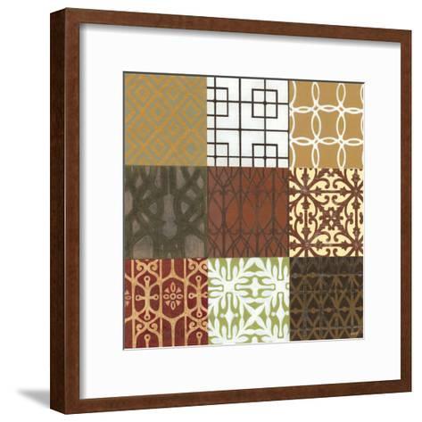 Trellis Nine Patch-Norman Wyatt Jr^-Framed Art Print