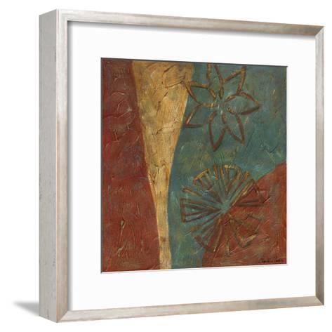Lattice work IX-Chariklia Zarris-Framed Art Print