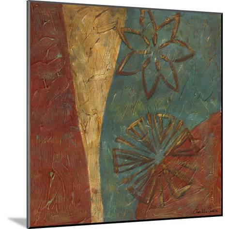 Lattice work IX-Chariklia Zarris-Mounted Art Print