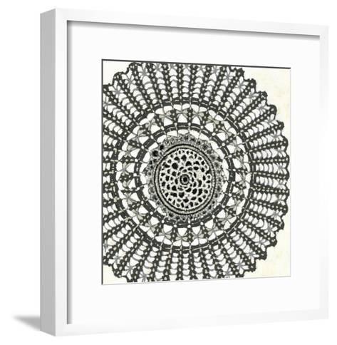 Mini Abstract Rosette II-Chariklia Zarris-Framed Art Print