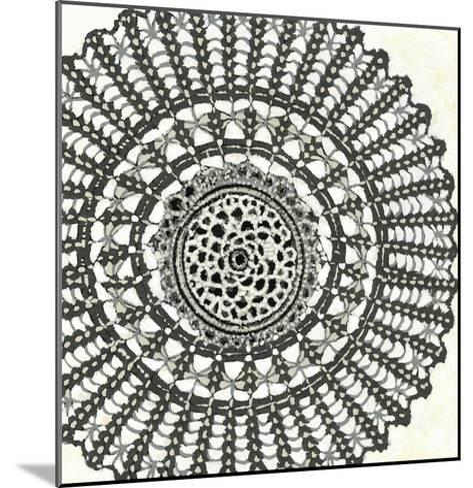 Mini Abstract Rosette II-Chariklia Zarris-Mounted Art Print