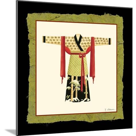 Kimono II-Nancy Slocum-Mounted Art Print
