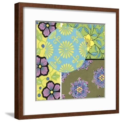 Small Blooming Medallion I-Chariklia Zarris-Framed Art Print