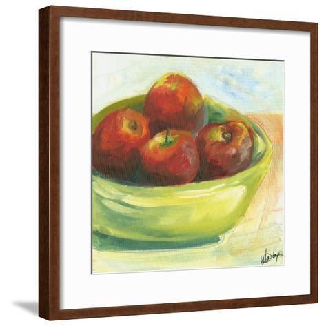 Large Bowl of Fruit III-Ethan Harper-Framed Art Print