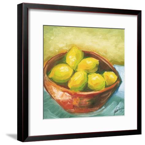 Small Bowl of Fruit IV-Ethan Harper-Framed Art Print