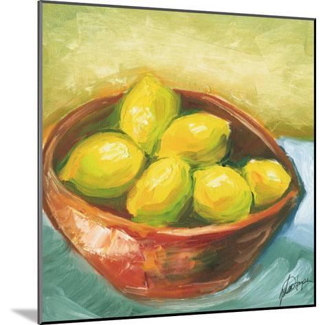 Small Bowl of Fruit IV-Ethan Harper-Mounted Art Print
