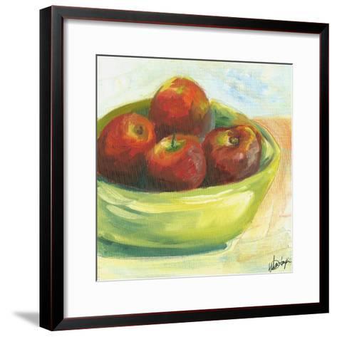 Small Bowl of Fruit III-Ethan Harper-Framed Art Print