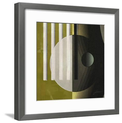 Quartet Tiles III-James Burghardt-Framed Art Print