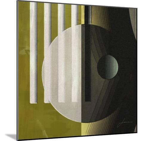 Quartet Tiles III-James Burghardt-Mounted Art Print