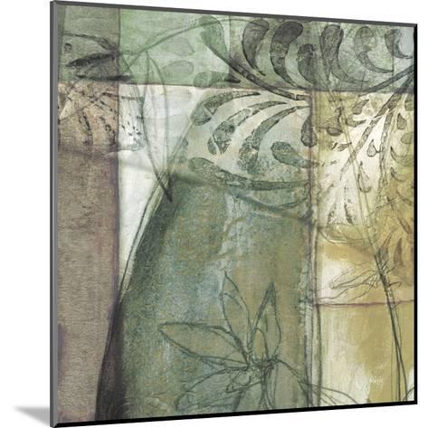 Non-Embld. Stained Glass Garden II-Jennifer Goldberger-Mounted Art Print