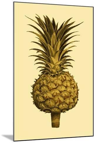 Sepia Pineapple II--Mounted Art Print
