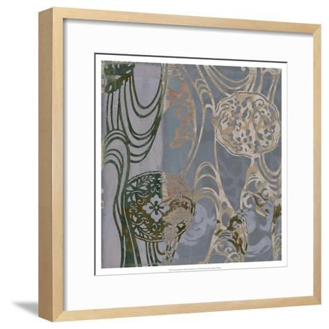Non-Embld. Medallions & Damask II-Jennifer Goldberger-Framed Art Print