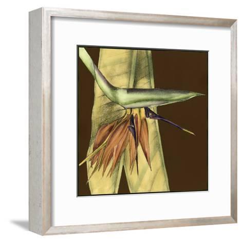Small Striking Tropical II-Jennifer Goldberger-Framed Art Print