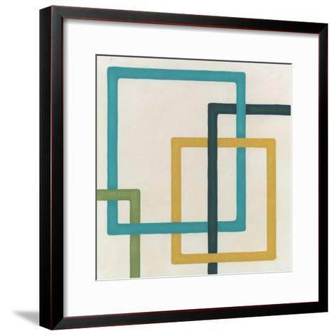 Non-Embellished Infinite Loop III-Erica J^ Vess-Framed Art Print