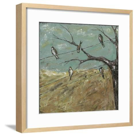 Where One or More are Gathered-Jade Reynolds-Framed Art Print
