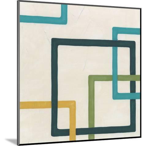 Non-Embellished Infinite Loop IV-Erica J^ Vess-Mounted Art Print