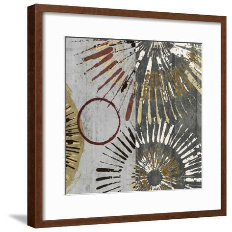 Outburst Tiles II-James Burghardt-Framed Art Print