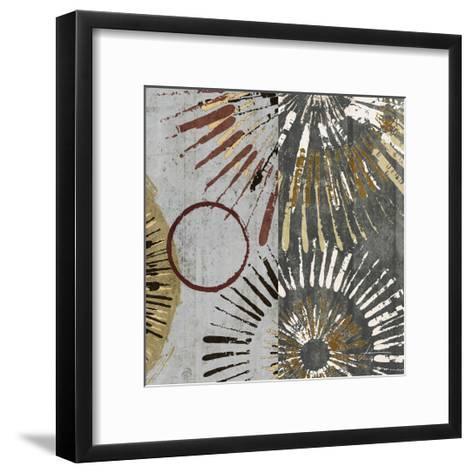 Outburst Tiles II-James Burghardt-Framed Art Print
