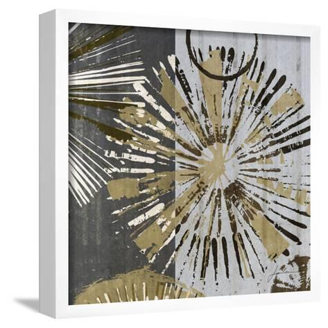 Outburst Tiles III-James Burghardt-Framed Art Print