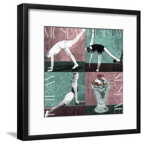 Weekly Workout I--Framed Art Print