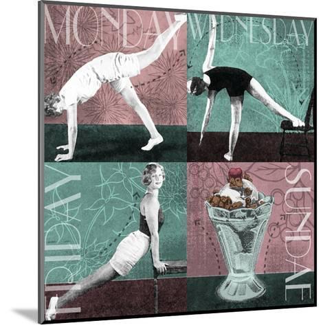 Weekly Workout I--Mounted Art Print
