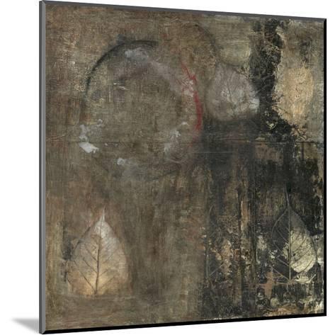Neutral Leaves II-Elena Ray-Mounted Art Print