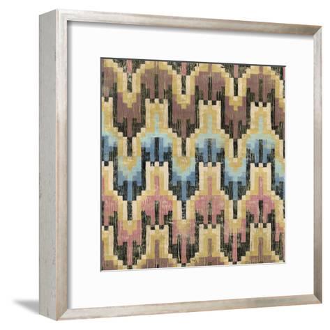 Flame Stitch I-Chariklia Zarris-Framed Art Print