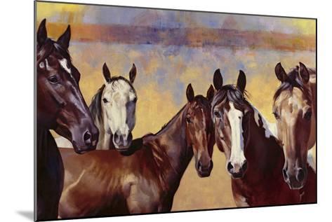 The Boys-Julie Chapman-Mounted Art Print