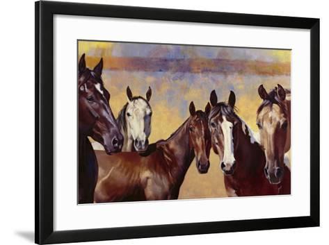 The Boys-Julie Chapman-Framed Art Print