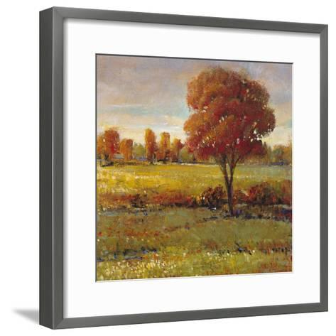 Field in Fall-Tim O'toole-Framed Art Print