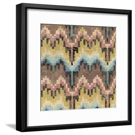 Flame Stitch IV-Chariklia Zarris-Framed Art Print