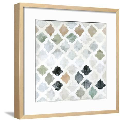 Turkish Tile II-Jodi Fuchs-Framed Art Print