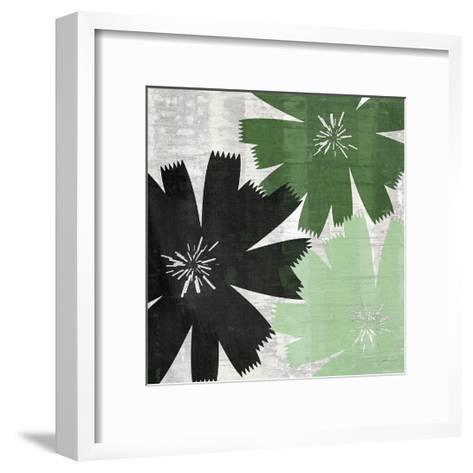 Bloomer Squares XVII-James Burghardt-Framed Art Print