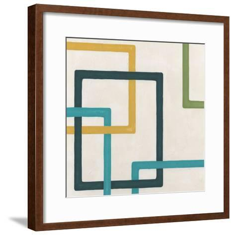 Non-Embellished Infinite Loop I-Erica J^ Vess-Framed Art Print