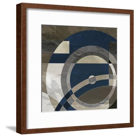 Concentric Squares II-James Burghardt-Framed Art Print