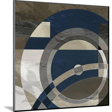 Concentric Squares II-James Burghardt-Mounted Art Print